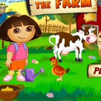 Dora At The Farm Games