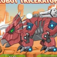 Toy War Robot Triceratops